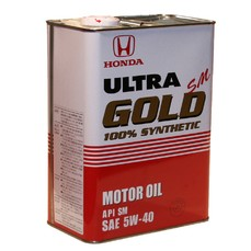 Моторное масло Honda Ultra Gold SM 5w40 (Synthetic)